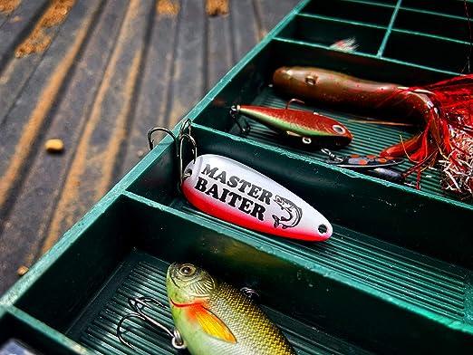 Master Baiter Fishing Funny Humor Fisherman Lures Tackle Box Long Sleeve Thermal