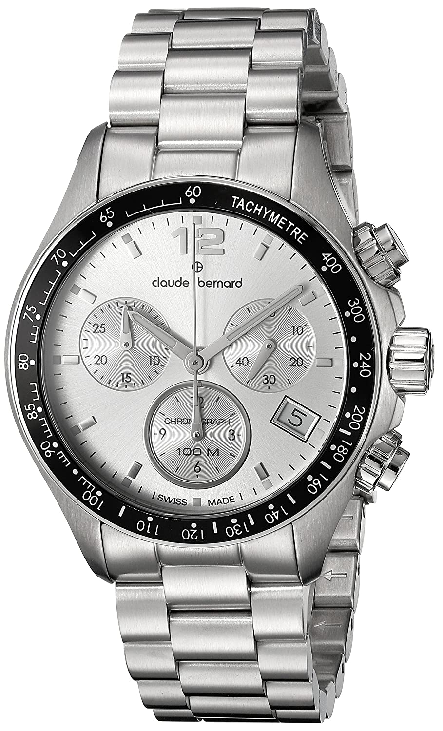 Claude Bernard Aquarider Damenuhr Chronograph 36mm 10212 3 AIN