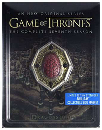 Amazon com: Game of Thrones Season 7 Steelbook [3Blu-Ray