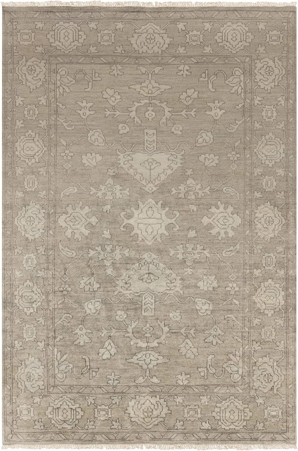 B00LK04780 Surya Hand Knotted Casual Accent Rug, 3-Feet 6-Inch by 5-Feet 6-Inch 91iPIsuDoHL