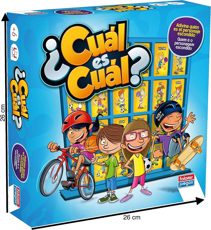 Falomir 646390 - Juego Cual Es Cual: Amazon.es: Juguetes y juegos