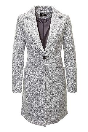 ONLY Damen Mantel Onlastrid Marble Coat OTW  Amazon.de  Bekleidung 6500b5d24e