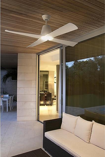 Faro Barcelona 33480 - TYPHOON Ventilador de techo blanco con ...