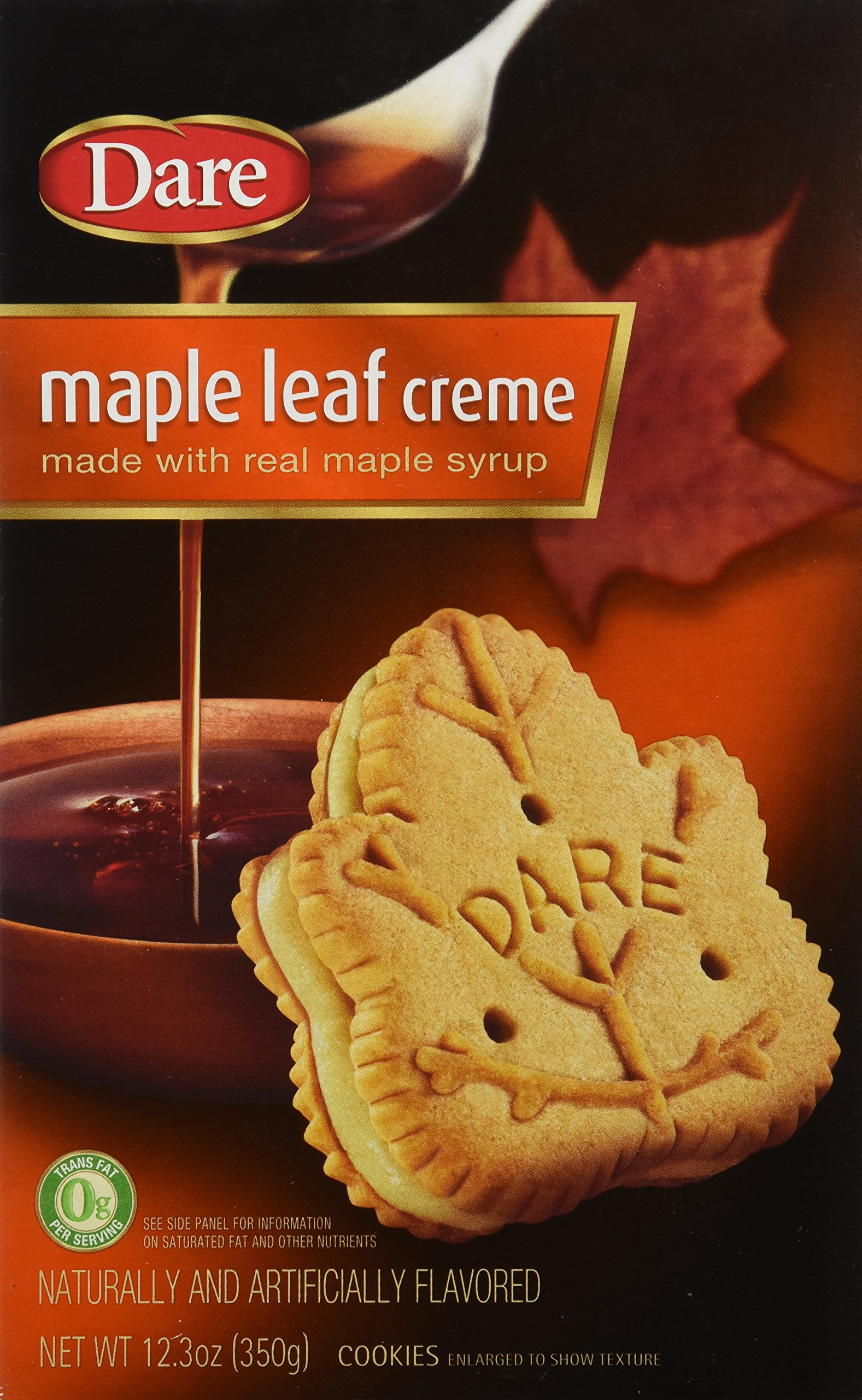 Dare Maple Leaf Creme Cookies, 12.3 Ounce