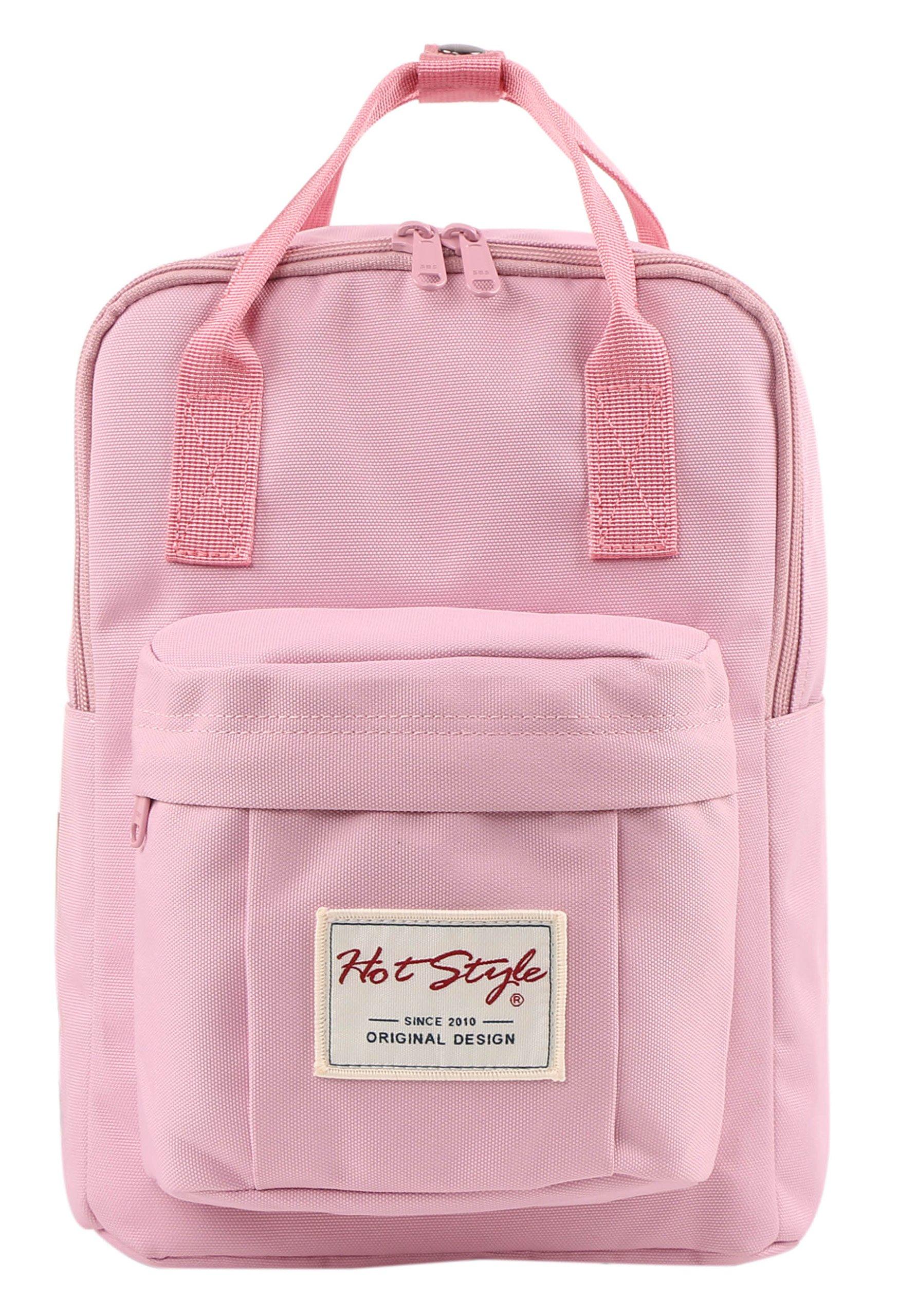 BESTIE 12'' Cute Mini Small Backpack Purse Travel Bag - Pink