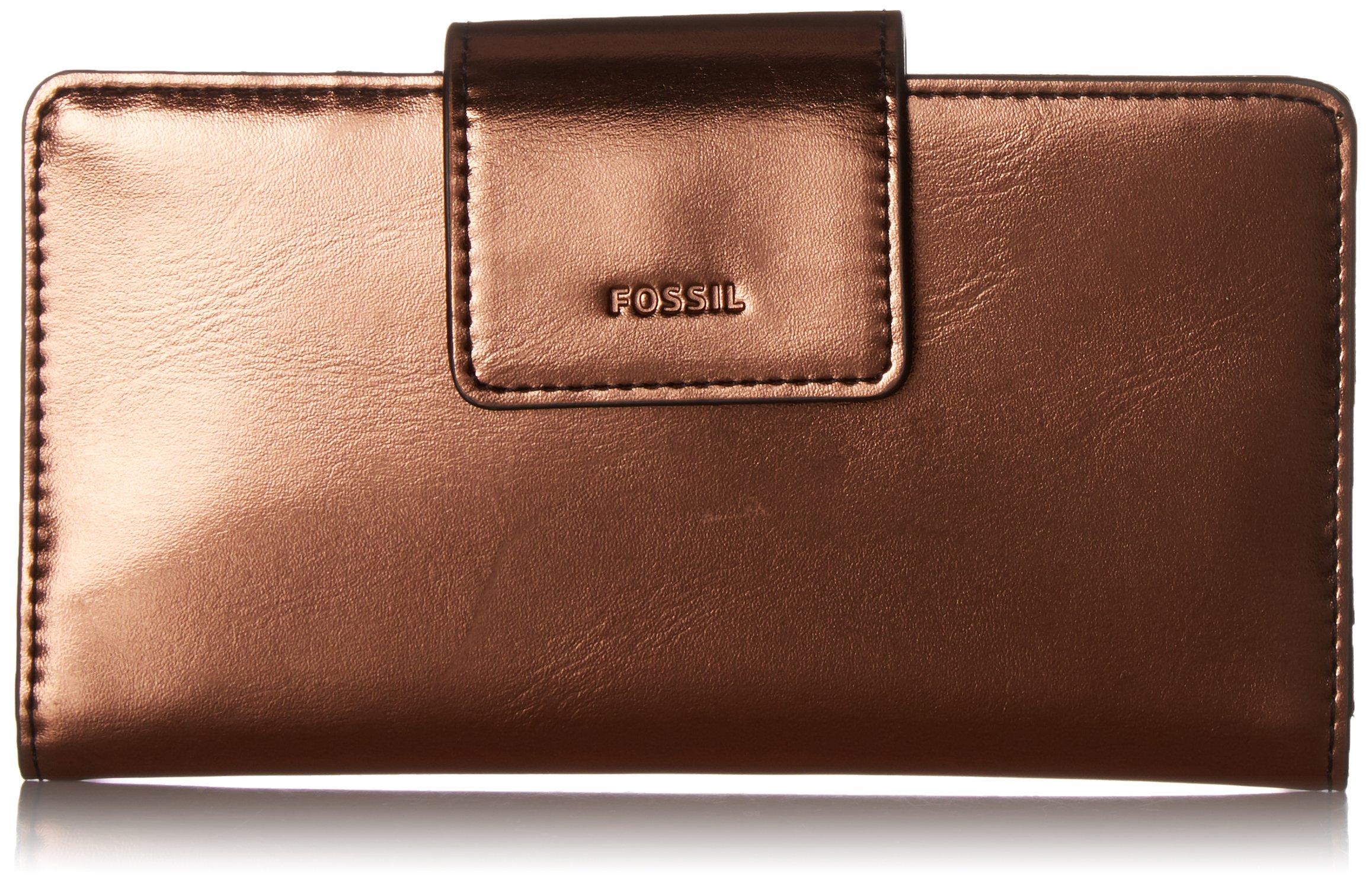 Fossil Emma RFID TAB Wallet, Copper
