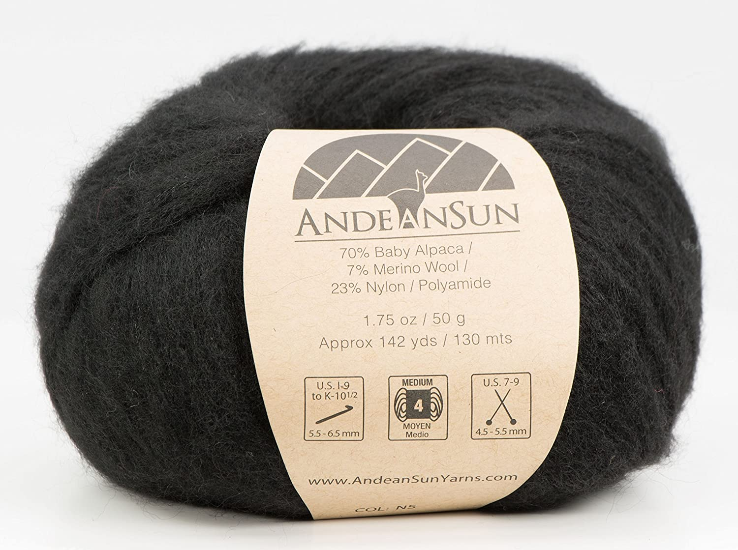 12a77f1b2 Amazon.com  Extra Soft Baby Alpaca Merino Wool Yarn Weight Category ...