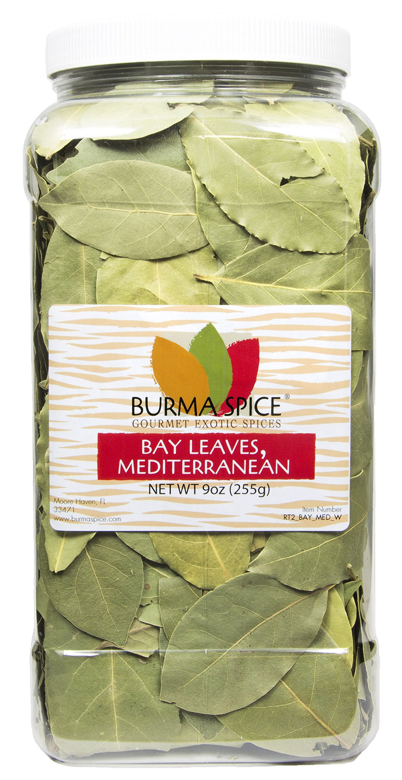 Mediterranean Bay Leaves : Laurel Leaf : Dried Herb Kosher (9oz.)