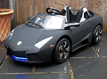 Lamborghini Electric Car For Kids >> Kids 2 Seater Lamborghini Style Sports Car With Remote Control 12v