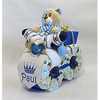 "'pañales pañales para tartas–Moto ""Príncipe Azul"