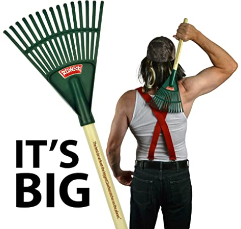 Amazon Com Redneck Backscratcher The Best Or At Least The Biggest Back Scratcher On The Planet Funny Gifts For Men 30th 40th 50th Birthday Father S Day Christmas Gag Gift For Guy W A Back And A
