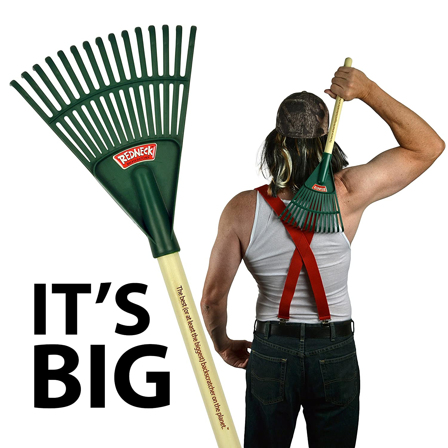 Amazon Redneck Backscratcher–The Best or at least the Biggest