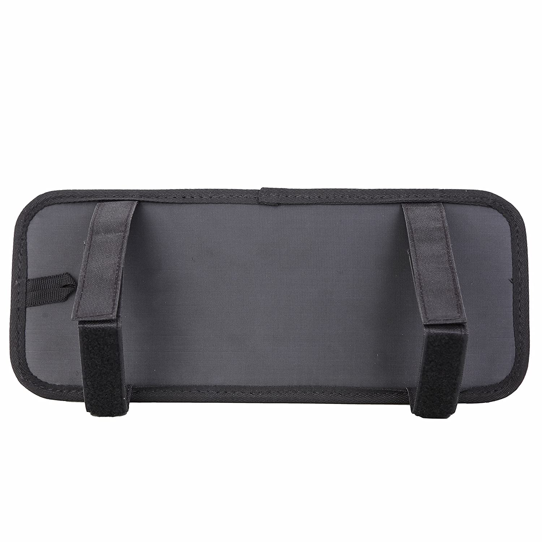 MUNTO Car Sun Visor Organizer Management Board Card Storage and Electronic Accessory Holder