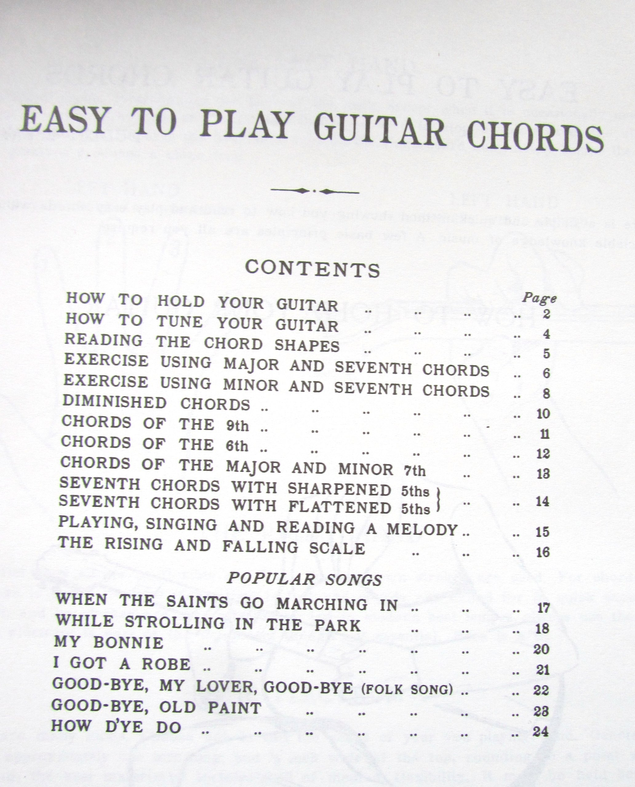 Easy To Play Guitar Chords Amazon Dudley Eyford Books