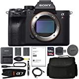 Sony Alpha a7R IV Mirrorless Digital Camera (Body Only) (ILCE7RM4/B) + AOM Pro Starter Bundle Kit - International…