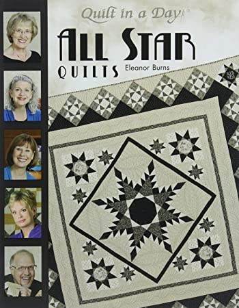 Amazon.com: Quilt in a Day Star Bk Quilts Back: Arts, Crafts & Sewing : all quilts - Adamdwight.com