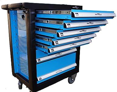 Kraftwelle - Organizador profesional para herramientas con ruedas