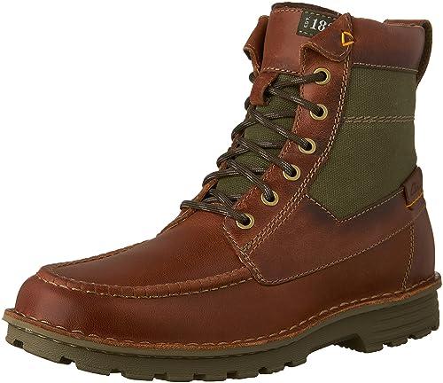 official images half off exclusive shoes Clarks Men's Sawtel Hi Boots: Amazon.co.uk: Shoes & Bags
