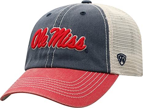 NCAA Mississippi Old Miss Rebels Mens Stitch Hat Medium//Large Team Color