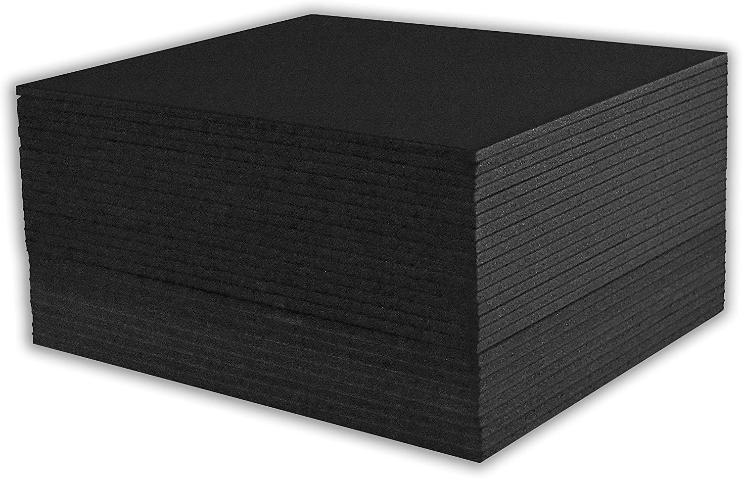 8x10 Black Foam Core Backing Boards Golden State Art 8x10, Black Pack of 25 3//16 Thick