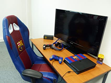 Subsonic - Silla De Oficina O De Gaming Con Licencia Oficial Fc Barcelona: Amazon.es: Videojuegos