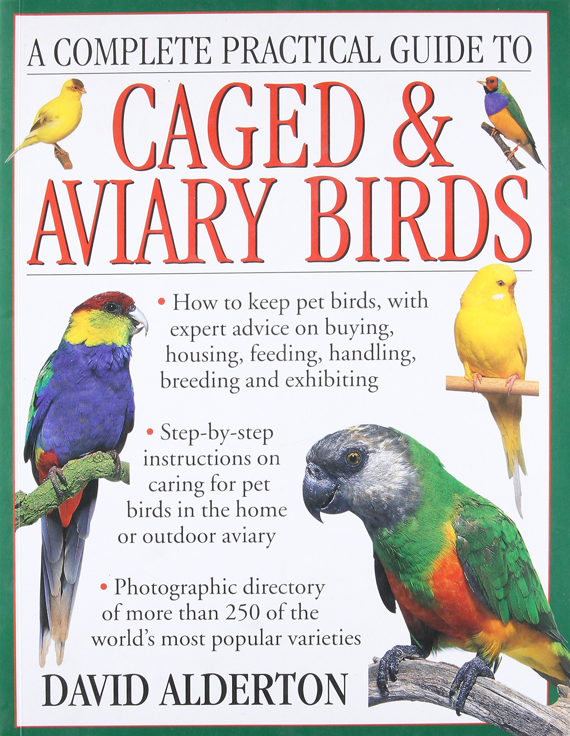 A Complete Practical Guide To Caged Aviary Birds How To Keep Pet Birds With Expert Advice On Buying Housing Feeding Handling Breeding And Exhibiting Alderton David 9781780194677 Amazon Com Books