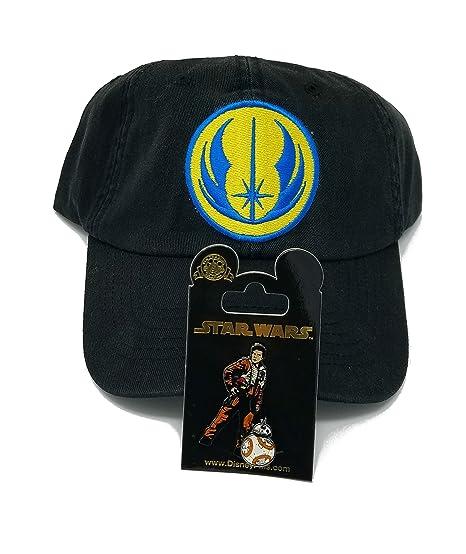 sale retailer a0346 18fda ... greece disney parks star wars jedi order icon logo adult baseball hat  with bonus rogue one
