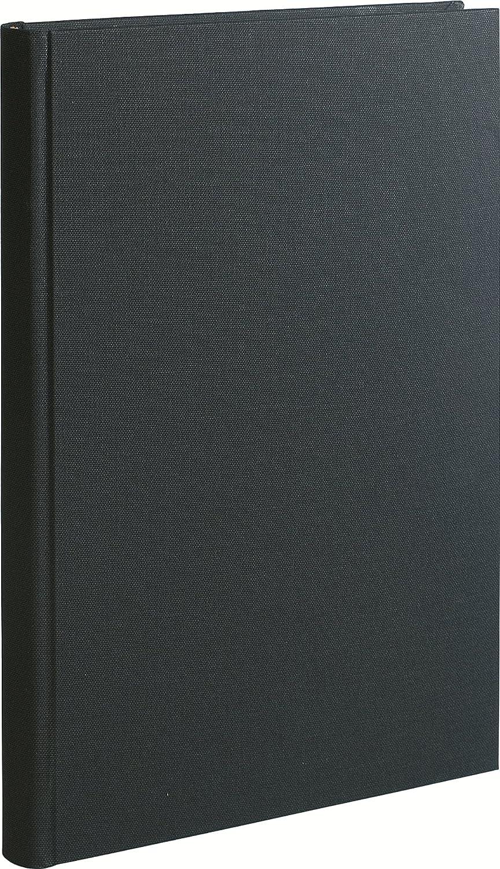 Le Dauphin Cahier 500 pages foliot/ées 35 x 23,50 x 3,50 cm Noir Toil/é