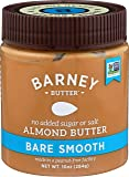 Barney Butter Almond Butter, Bare Smooth, 10 Ounce (Pack of 3)