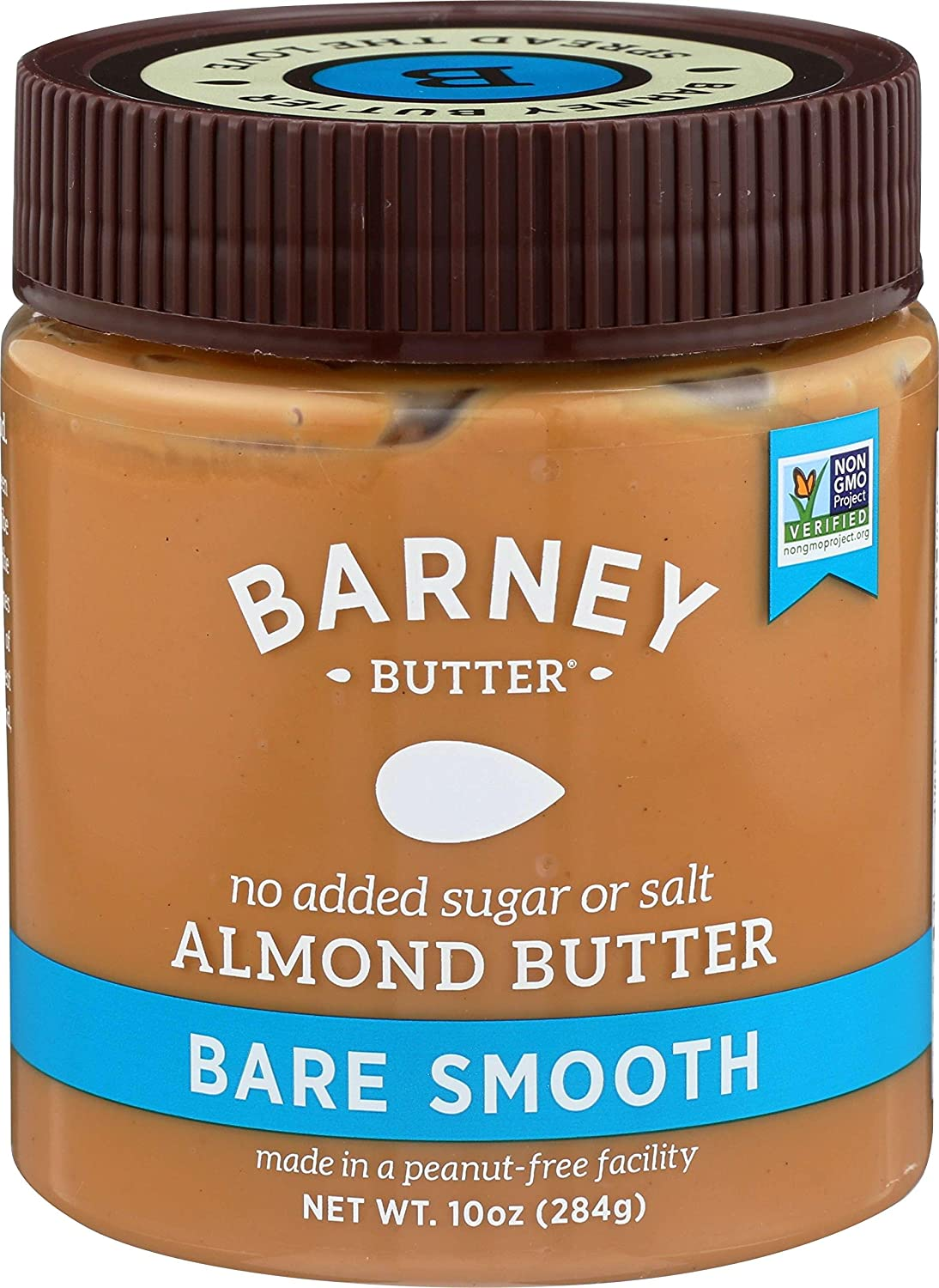 barney butter almond butter bare smooth 10 ounce amazon com