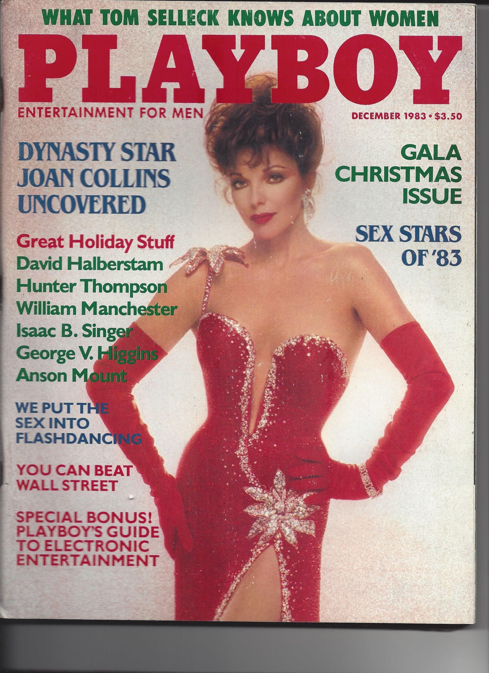 Playboy Magazine December 1983 Hugh M Hefner Amazon Com Books
