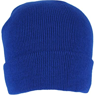 9430b019c13 Image Unavailable. Image not available for. Colour  Men s Royal Blue  Thermal Sports Beanie Hat