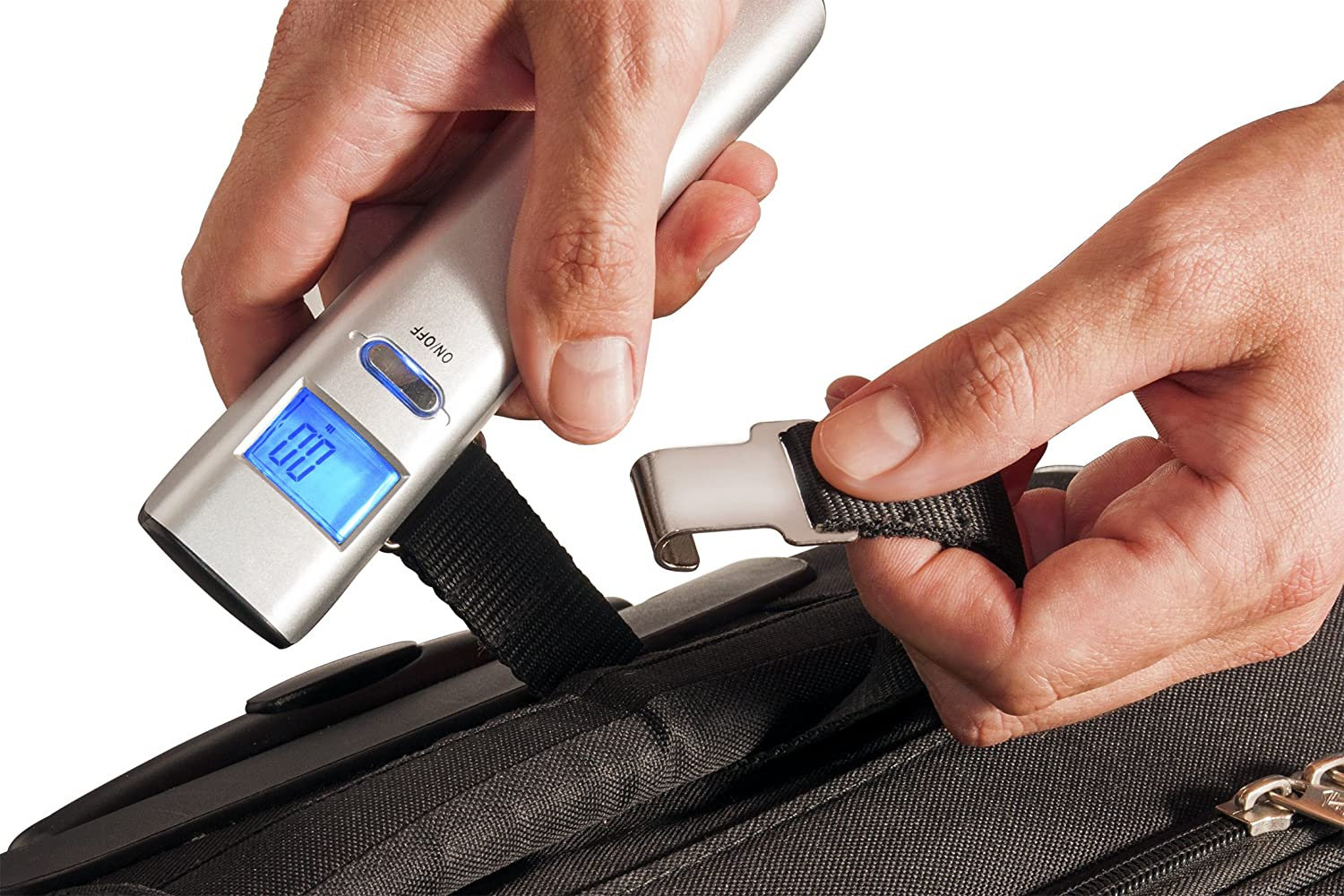 Carry Bag E-Guide Digital Luggage Scale Dunheger 110 lb FREE AAA Batteries