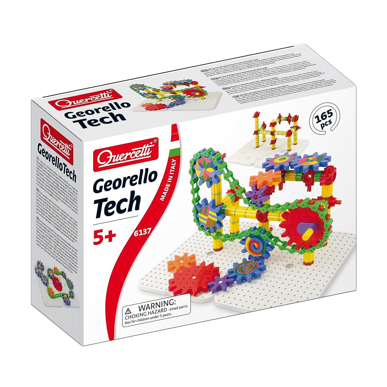 165 Piece Quercetti Georello Tech Three-Dimensional Structure