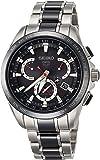 [セイコーウォッチ] 腕時計 アストロン GPSソーラー デュアルタイム SBXB041 メンズ シルバー