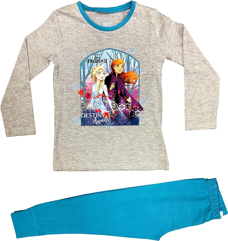 Disney Frozen 2 Girls Pyjamas Long Sleeve PJ Set
