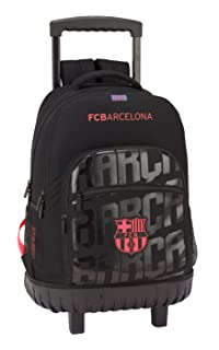 FC Barcelona Mochila gde; con Ruedas Compact f.c.barcel 32x45x21 Color Azul 45 cm 611927818