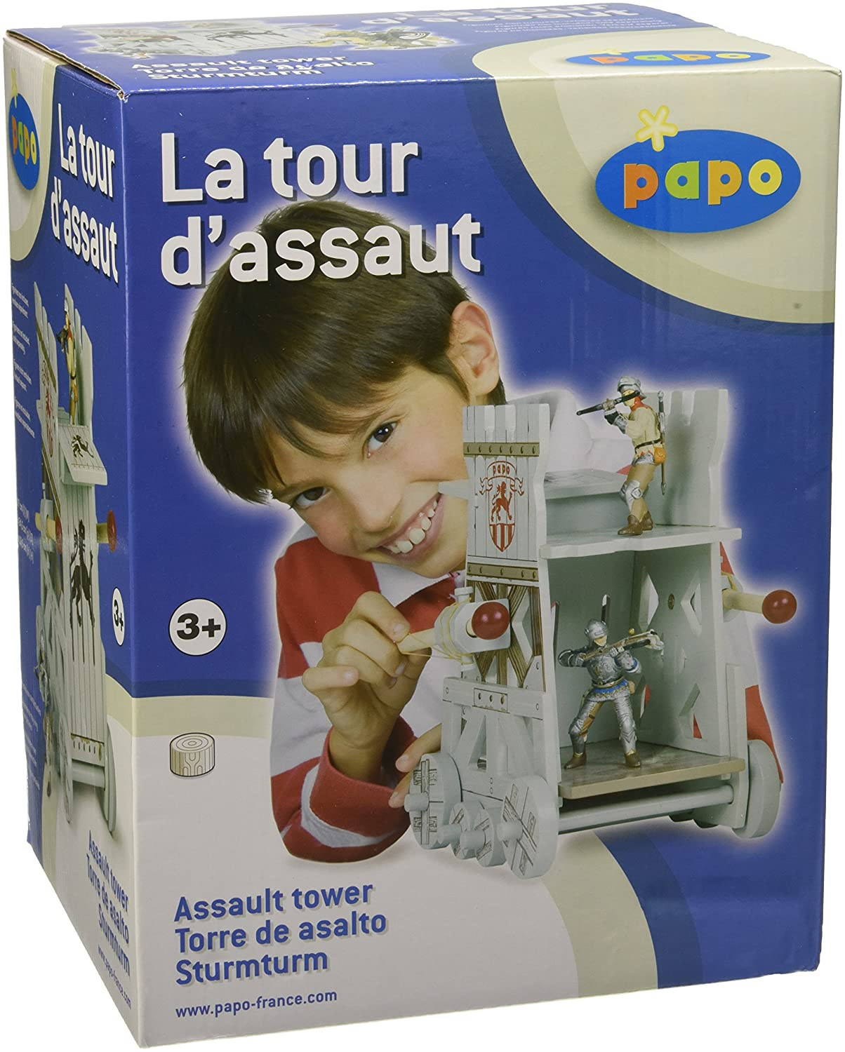 Amazon.com: Papo Assault Tower: Toys & Games