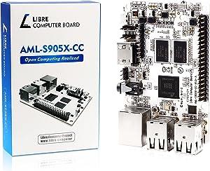 Libre Computer Board AML-S905X-CC (Le Potato) 2GB 64-bit Mini Computer for 4K Media