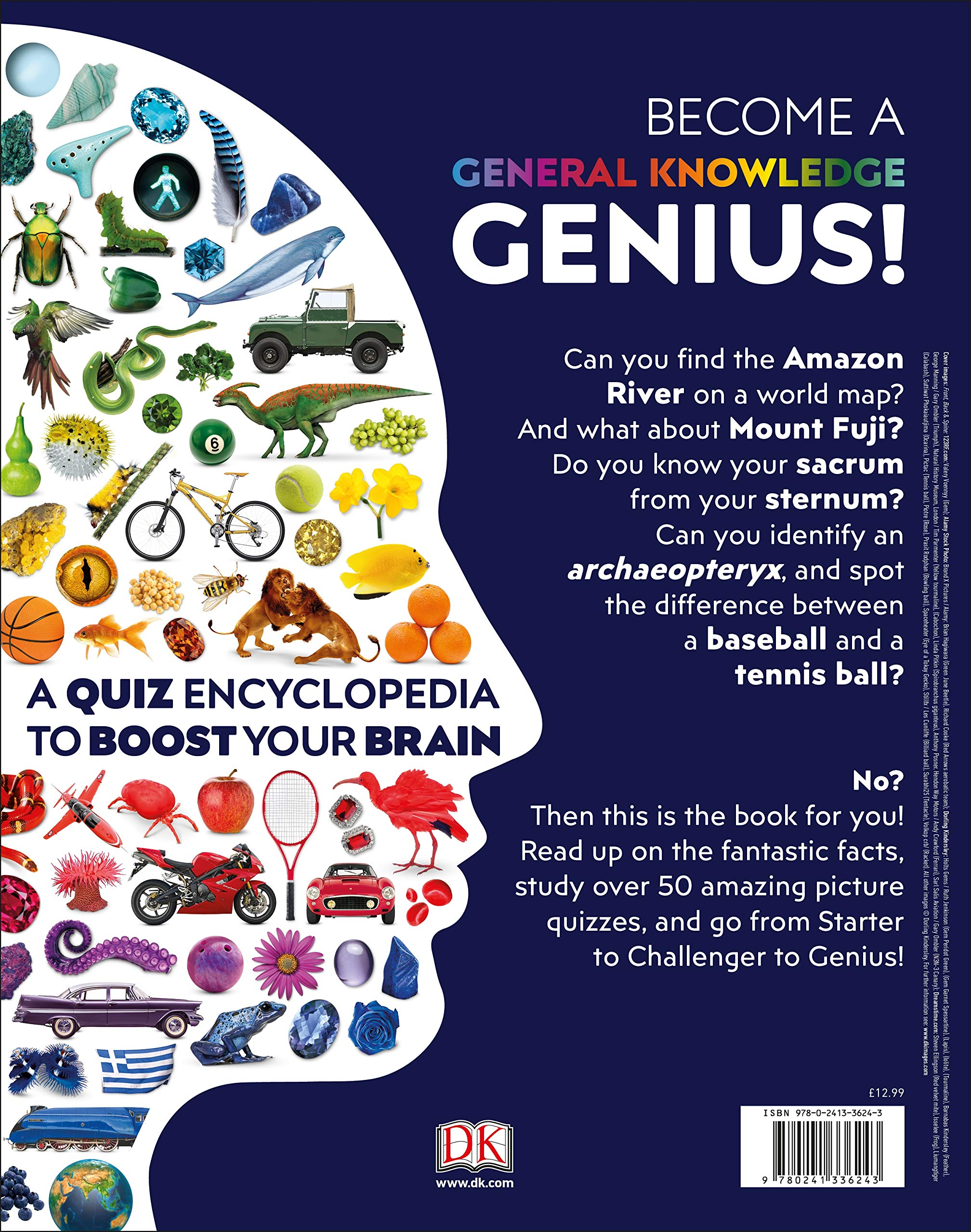 General Knowledge Genius!: A Quiz Encyclopedia to Boost Your