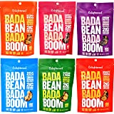 ENLIGHTENED BROAD BEAN (FAVA BEANS) CRISPS 6-3 oz BAGS (6-3oz VAR SS, GARLIC, SRIRACHA,BBQ, COCOA, CINN)