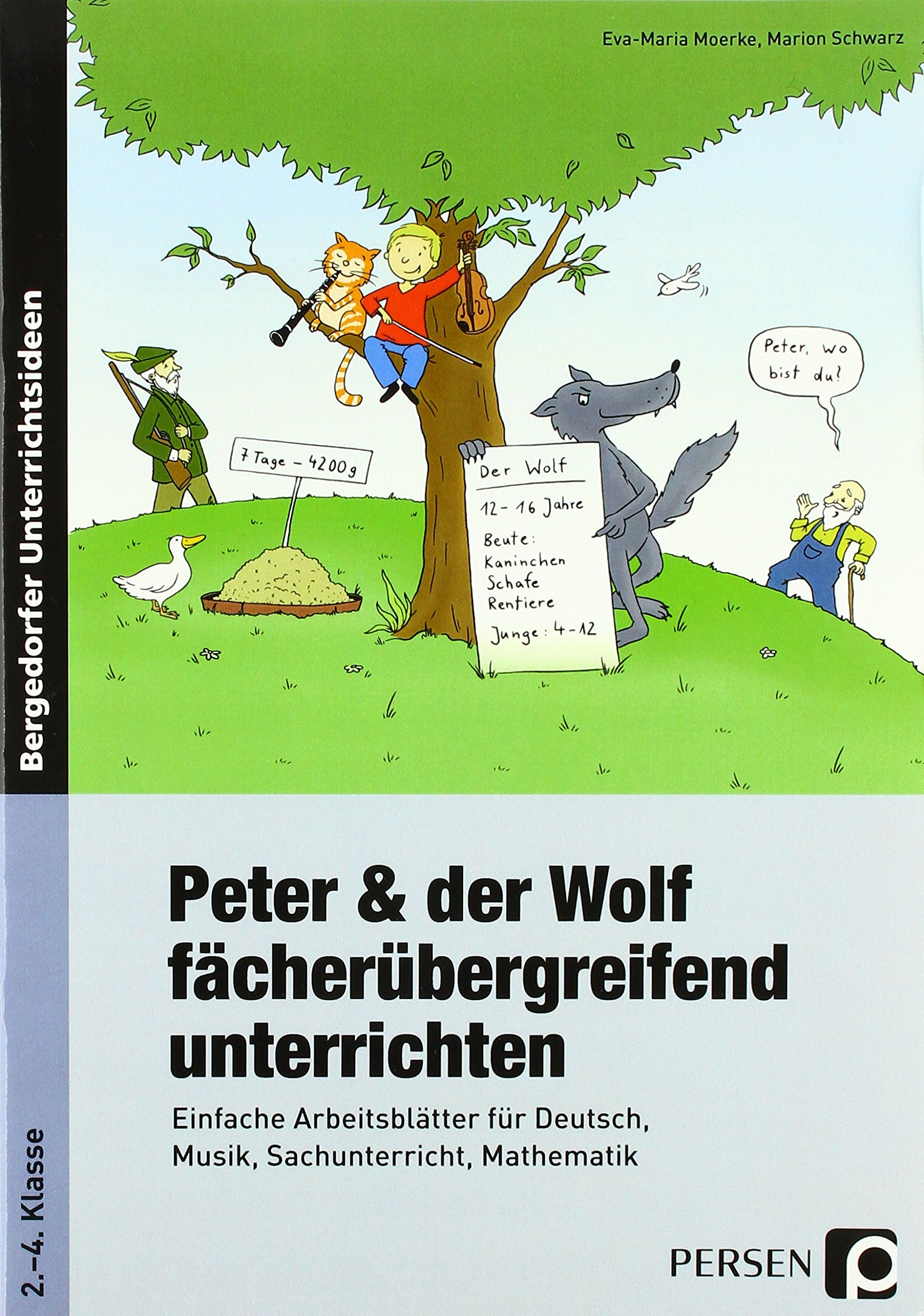 Peter & der Wolf fächerübergreifend unterrichten: Einfache ...