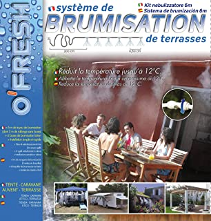 OFresh 063 - Rociador de terraza (10 m 7 tubos): Amazon.es ...