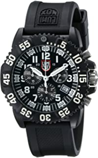 navy black and white pictures for bathrooms. Luminox Men s 3081 Evo Navy SEAL Chronograph Watch Amazon com  3052 Colormark Seal Black Resin
