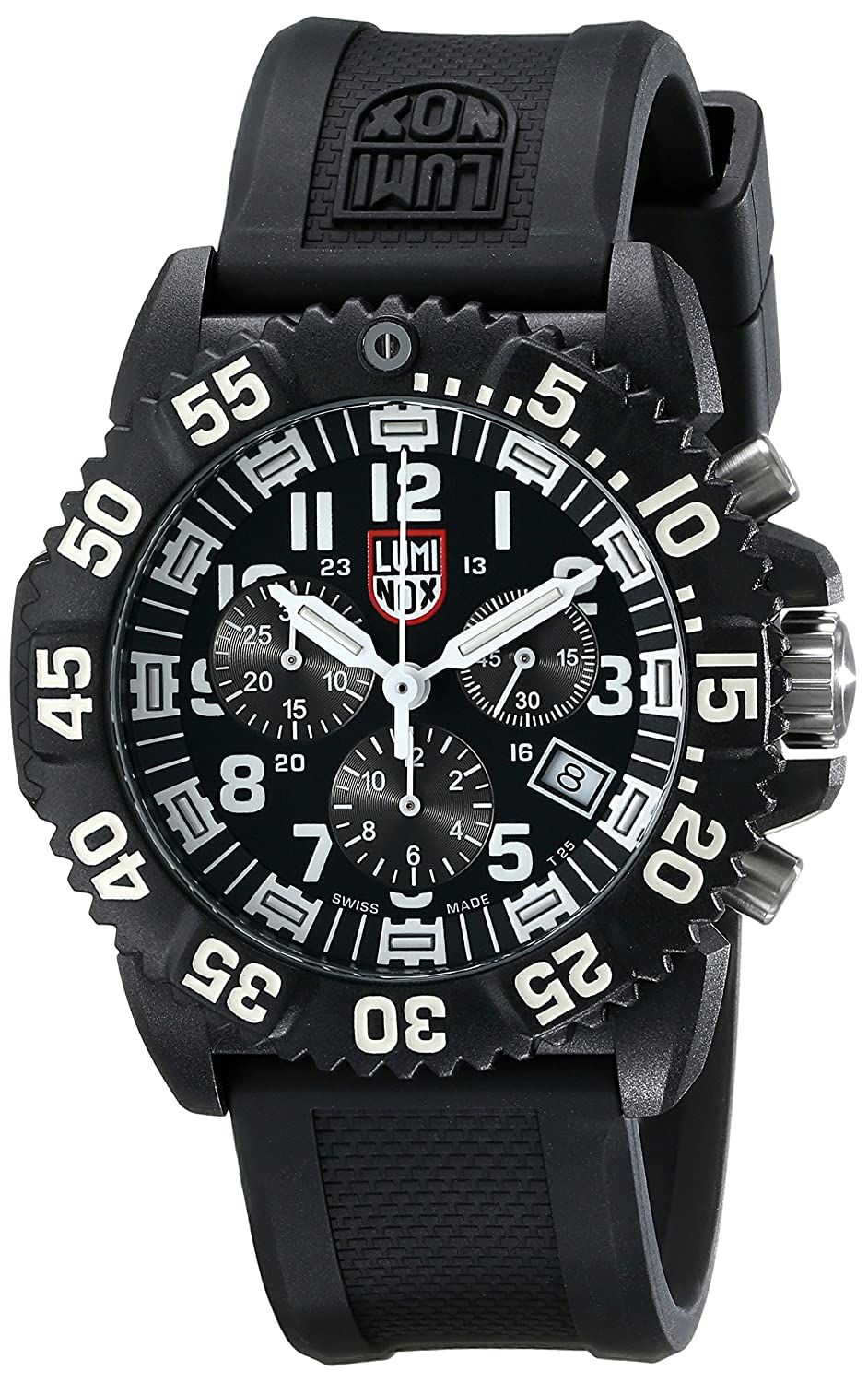 Luminox mens 3081 evo navy seal chronograph watch new free shipping ebay for Luminox watches