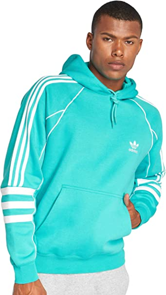 adidas Originals Authentic Hoody In Green DH3853 in 2019