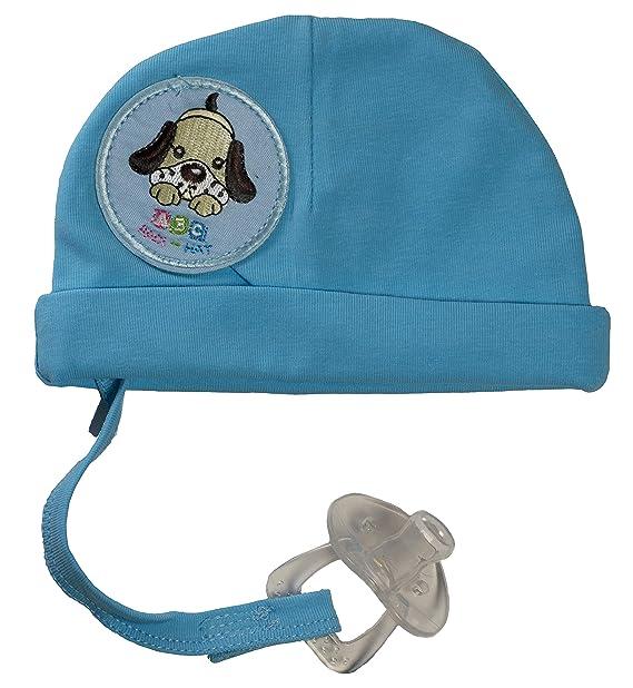 Amazon.com: Sombrero de bebé con chupete para recién nacido ...