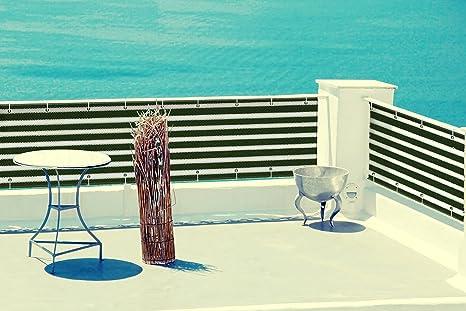 Kenley Privacy Fence Screen Mesh For Balcony Porch Deck   35u0026quot; X 15u0027