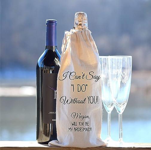 Amazon Personalized Wine Bottle Bag Champagne Bottle Bag