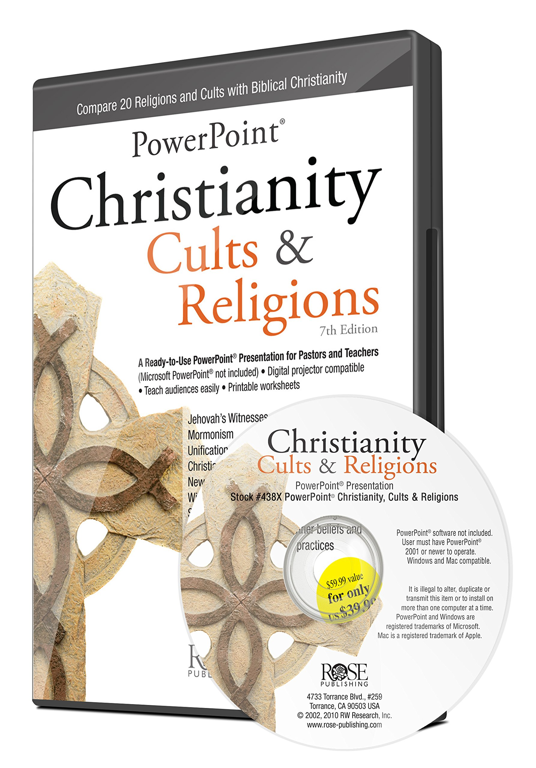 Complete Christianity, Cults & Religions 6-Session DVD-based Study by Hendrickson Publishers